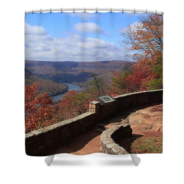 Signal Point Shower Curtain