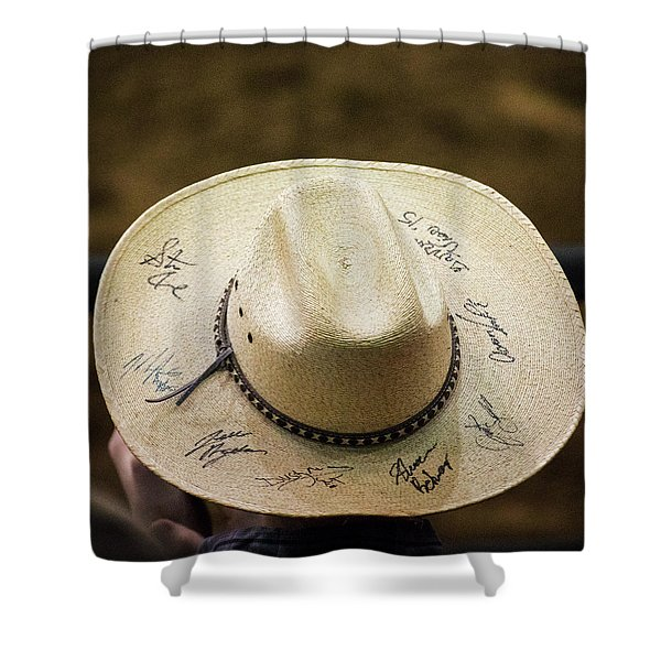 Signature Hat Shower Curtain