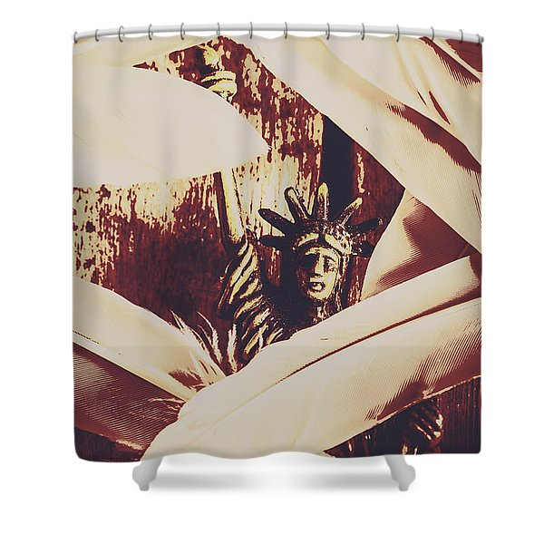 Signing Of The Declaration Of Independence  Shower Curtain