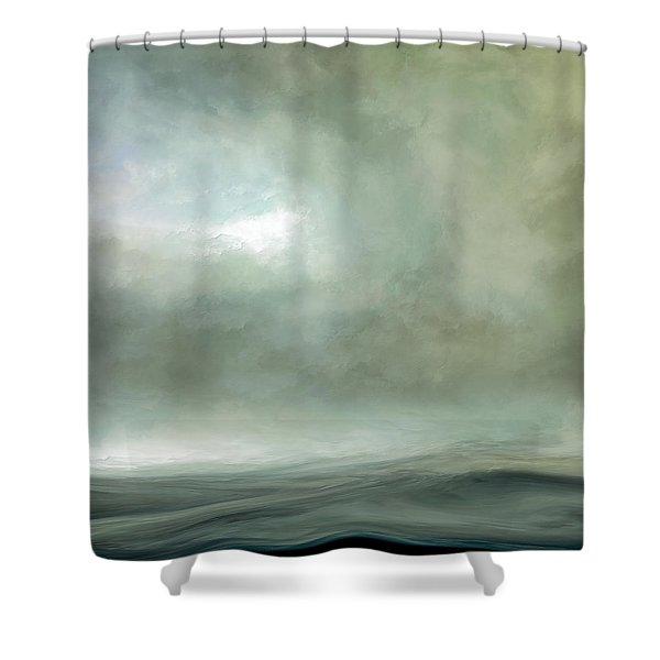 Silence Of The Deep Shower Curtain