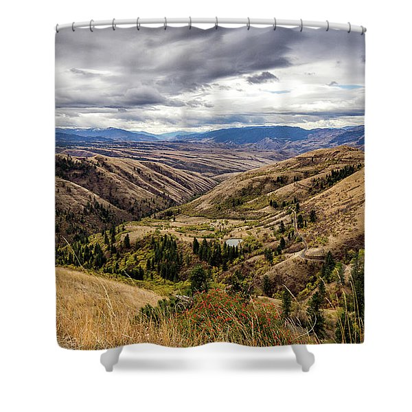 Silence Of Whitebird Canyon Idaho Journey Landscape Photography By Kaylyn Franks  Shower Curtain