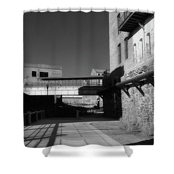 Silence On The Banks Of The Chattahoochee Shower Curtain