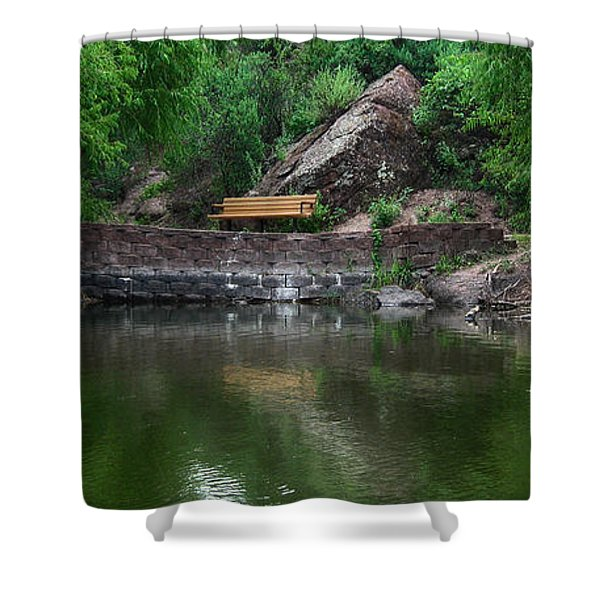 Silent Company Shower Curtain