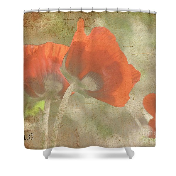 Silent Dancers Shower Curtain