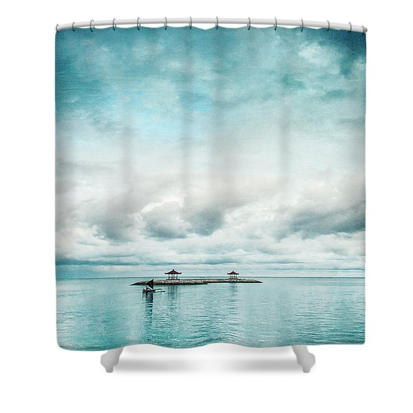 Silent Ocean Shower Curtain