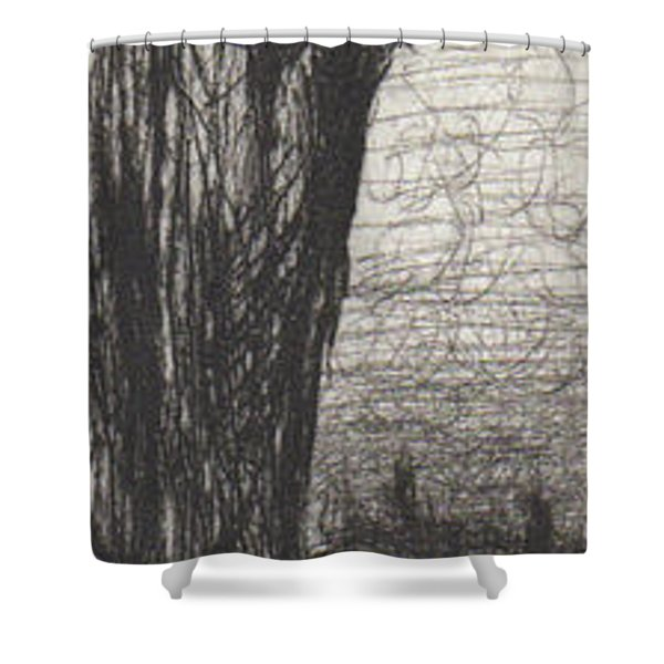 Silent Stand  Shower Curtain