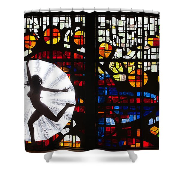 Silhouette 321 Shower Curtain