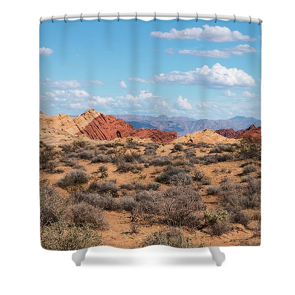 Silica Dome - Valley Of Fire Shower Curtain