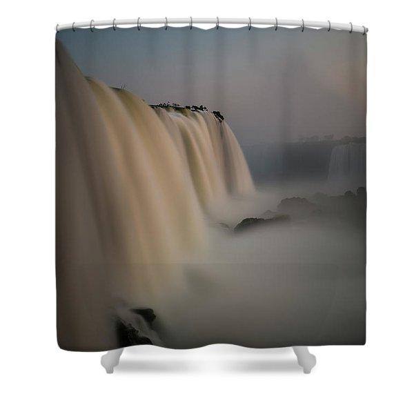 Silk Torrent Shower Curtain