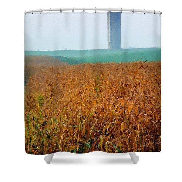 Silo 2 Shower Curtain