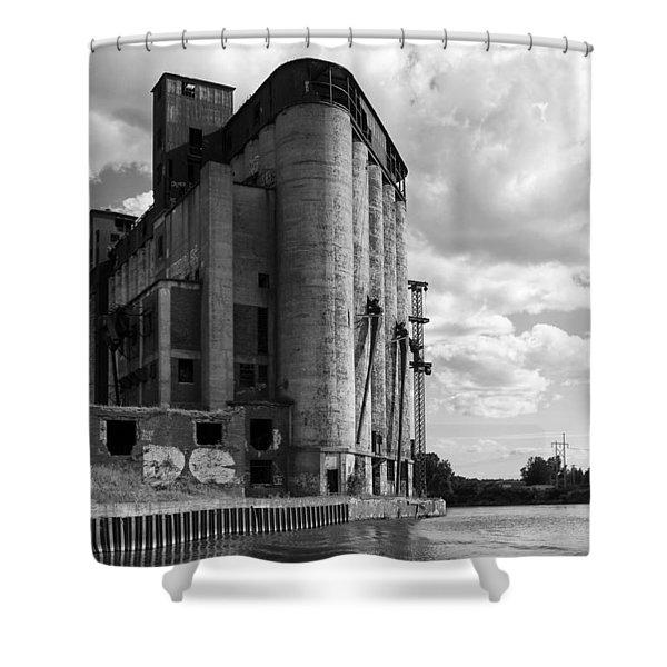 Silo City 4 Shower Curtain