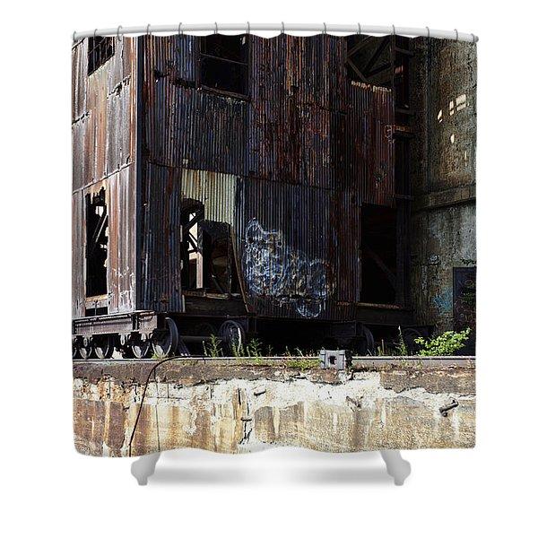 Silo City 6 Shower Curtain
