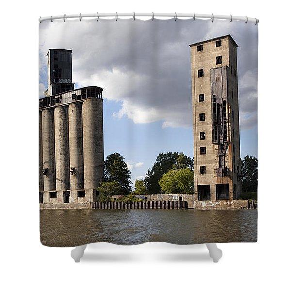 Silo City 9 Shower Curtain