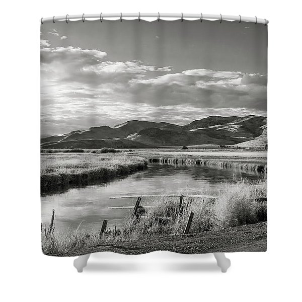 Silver Creek Shower Curtain