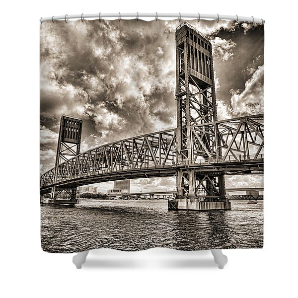 Silver Wing Shower Curtain