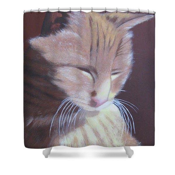 Simba, Best Cat. Shower Curtain