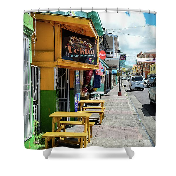 Simple Street View Shower Curtain