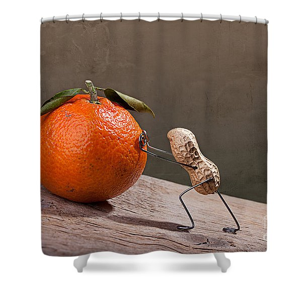 Simple Things - Sisyphos 01 Shower Curtain