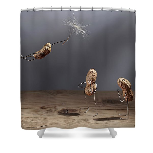 Simple Things - Flying Shower Curtain