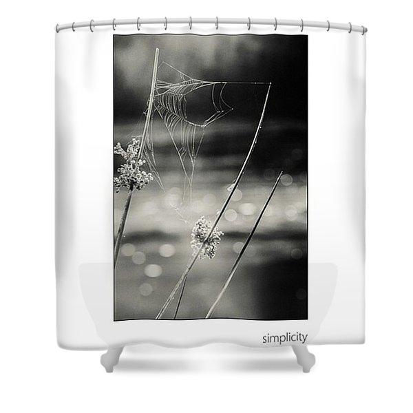 *simplicity Von Mandy Tabatt Auf Shower Curtain