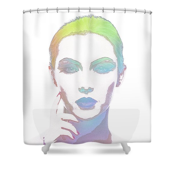 Simply Irresistable Shower Curtain