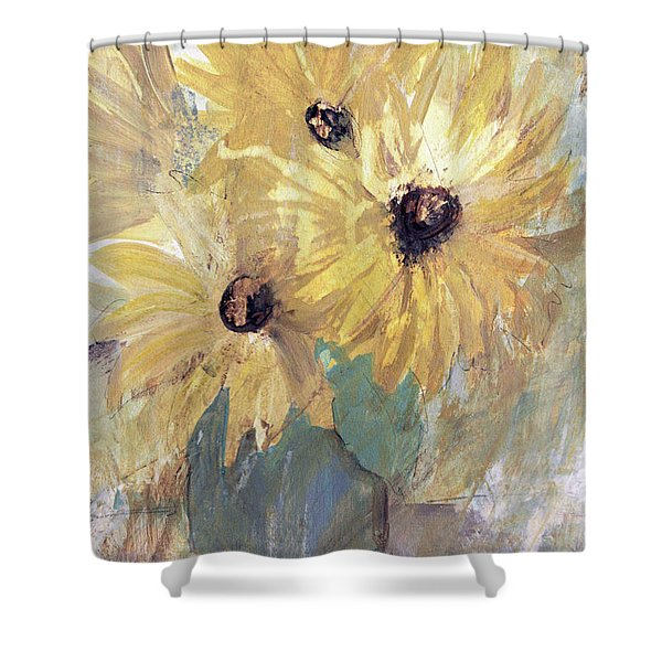 Simply Sunflowers  Shower Curtain
