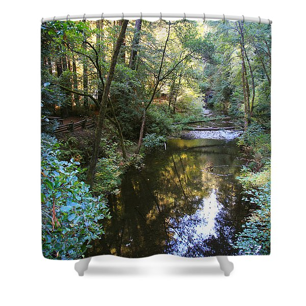 Since That Cold November Day Shower Curtain