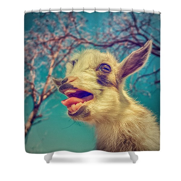 Sing It Again Shower Curtain