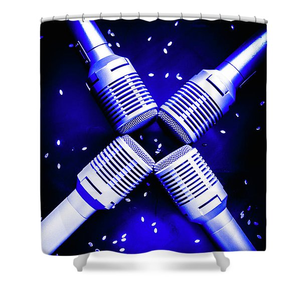 Sing Star Shower Curtain