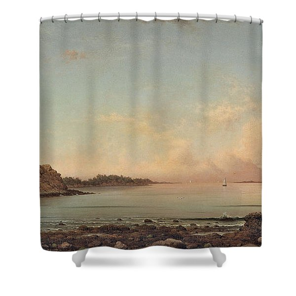Singing Beach Shower Curtain