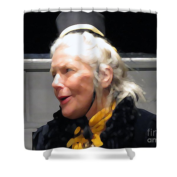 Singing For Joy Shower Curtain