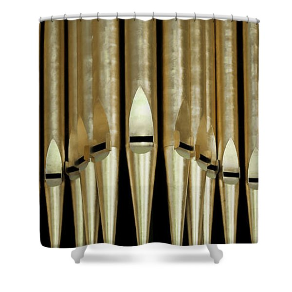 Singing Pipes Shower Curtain
