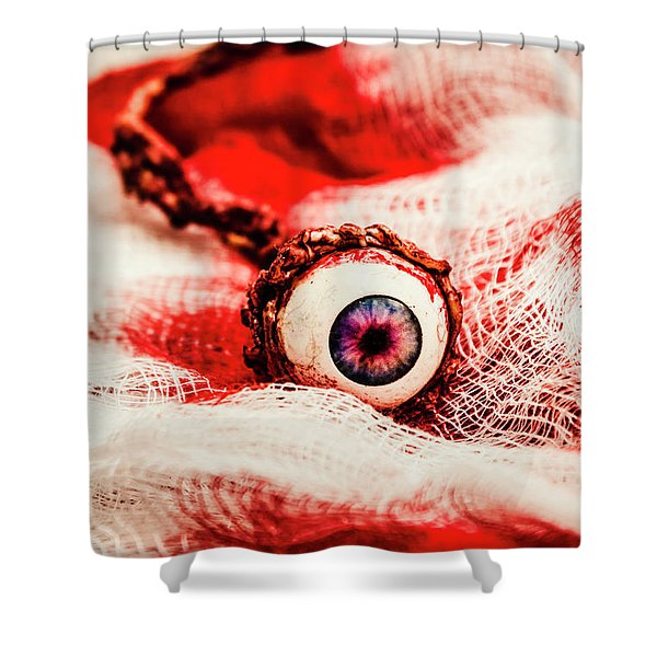 Sinister Sight Shower Curtain