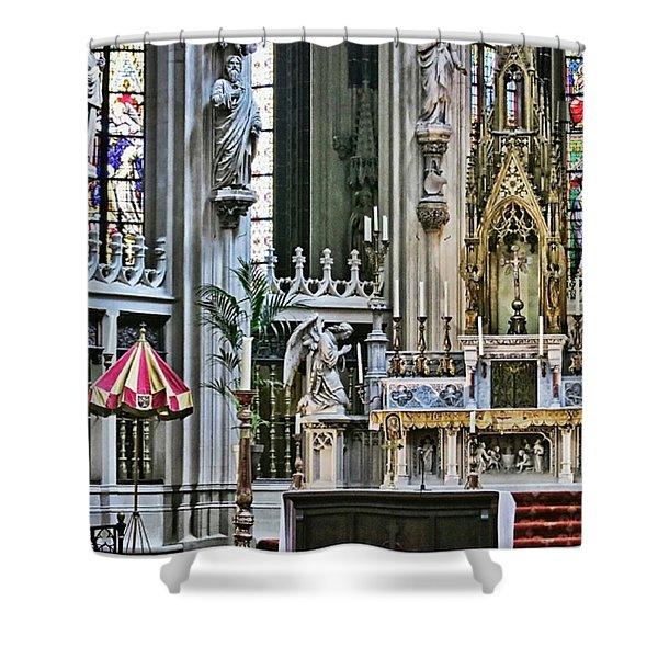 Sint-janskathedraal In 's-hertogenbosch Shower Curtain