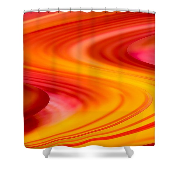 Sinuous I Shower Curtain