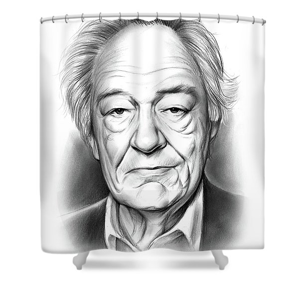 Sir Michael Gambon Shower Curtain