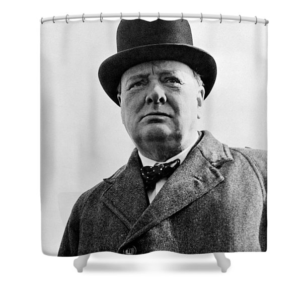Sir Winston Churchill Shower Curtain