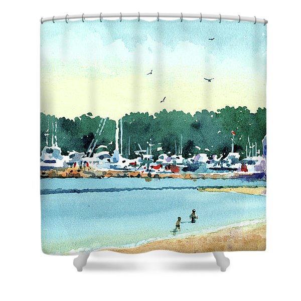 Sister Bay, Door County Shower Curtain