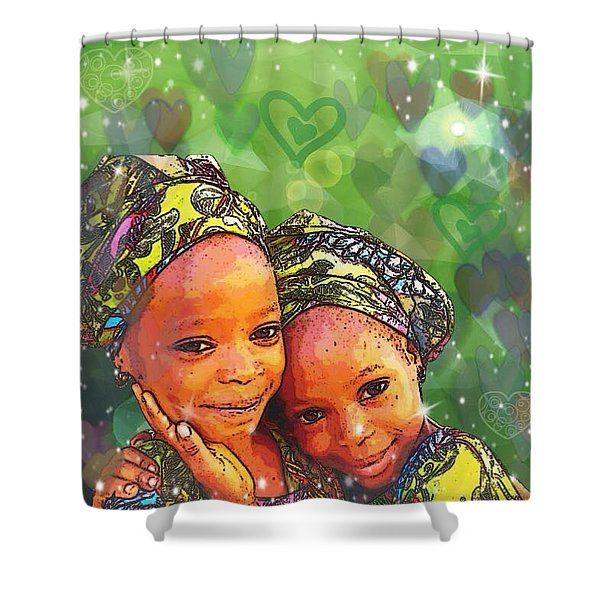 Sisters Love Shower Curtain
