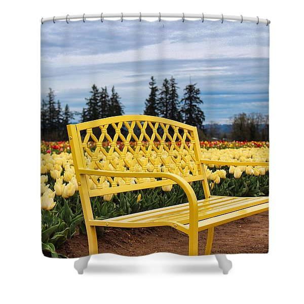 Sit And Enjoy Shower Curtain