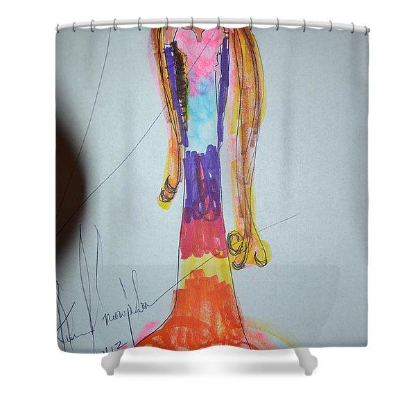 Site Beauty Shower Curtain