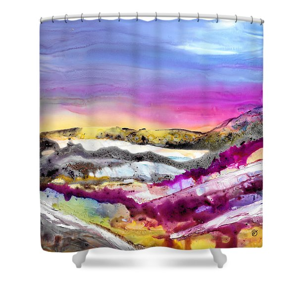 Site Of Obscurity Shower Curtain
