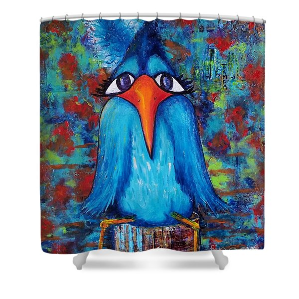 Sittin' At The Dock Of The Bay Shower Curtain