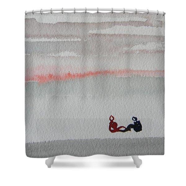 Six Seasons Dance Five Shower Curtain