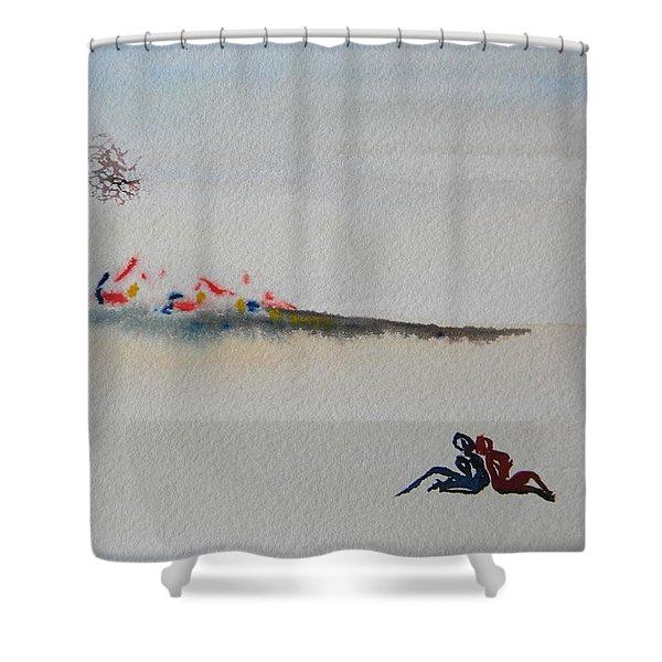 Six Seasons Dance One Shower Curtain