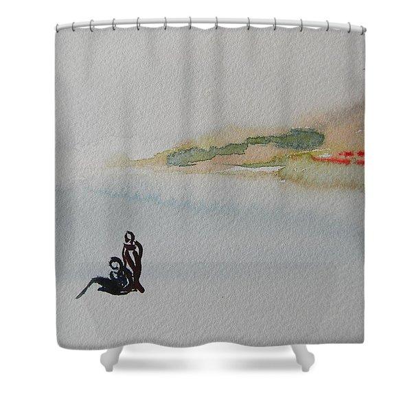 Six Seasons Dance Two Shower Curtain