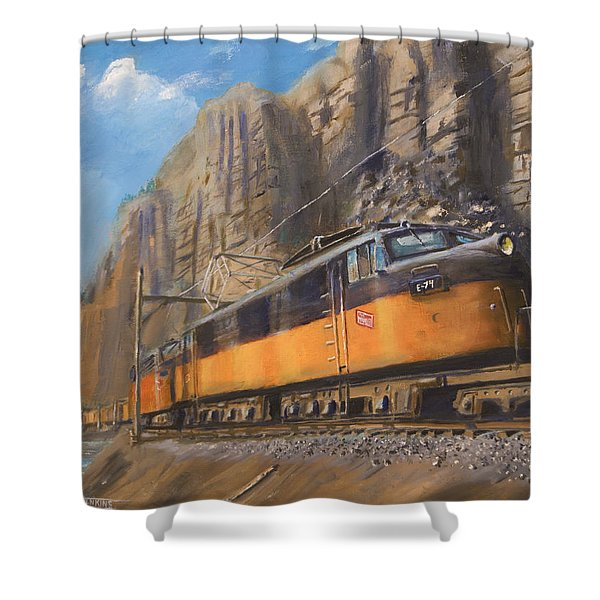 Sixteen Mile Canyon Shower Curtain