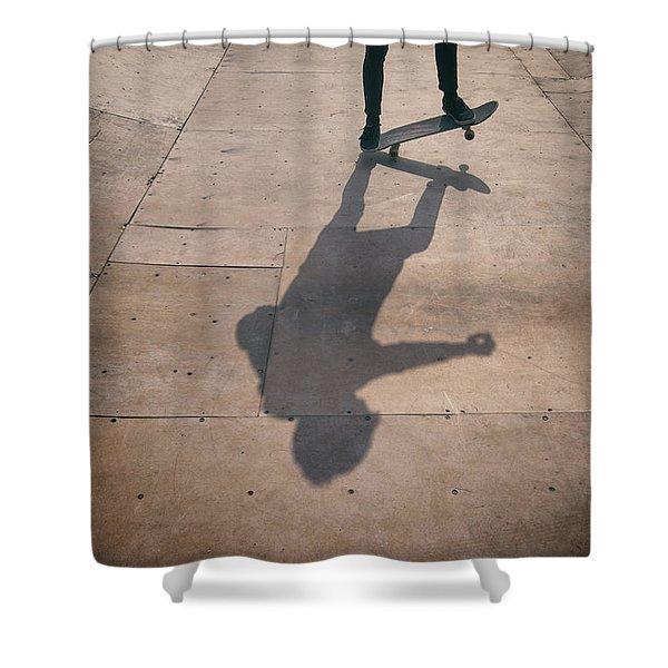 Skater Boy 002 Shower Curtain