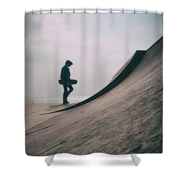Skater Boy 006 Shower Curtain