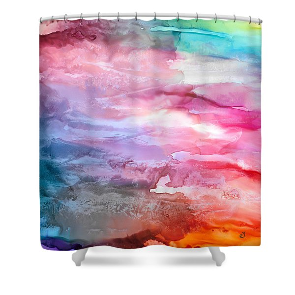 Skies Emotion Shower Curtain